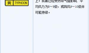 9月16日17时10分起广州南沙区发布台风白色预警