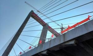 番海大桥什么时候开通?预计2021年春节前主线桥通车