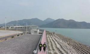 广州南沙边检站赶赴珠海港珠澳大桥口岸支援工作