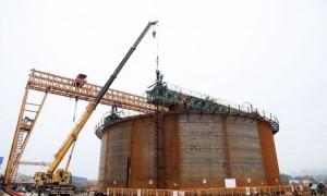 广汕铁路增江特大桥路段建设进度约25% 预计在2021年底完工