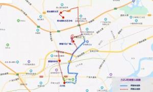 2020年7月1日起广州新塘万达2路公交车进行线路调整
