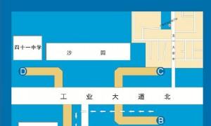 2020年7月8日起广州地铁沙园站B口围蔽施工