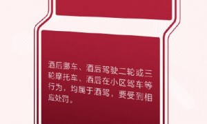 2020广州酒后骑摩托车算酒驾(处罚标准)