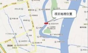 2020广州番禺区亚运大道将重建一座双向6车道新桥