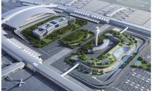 2020广州白云机场将建P4交通综合体(规划图)