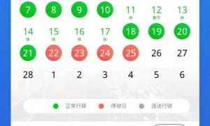 广州2月限行几天?2021年2月广州限行时间一览