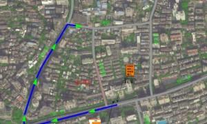 3月9日起广州达道路、中山一路和农林东路将围蔽施工