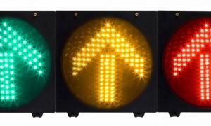 红灯亮时可以右转吗(圆屏灯+箭头红绿灯)