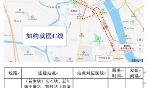 广州荔湾芳村片区如约就医乘车指引(时间+线路+站点)