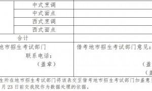 2021年1月广东中职专业技能课程考试借考申请表(下载入口)