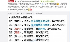 2020广州高考天气预报(持续更新)