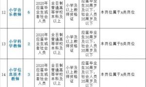2020广州黄埔公开招聘教师118人(附报名指南)