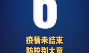 2020年9月21日31省区市新增6例境外输入