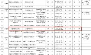 9月18日广州海珠区有3个接种点提供康希诺一针型新冠疫苗