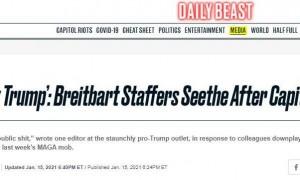 """特朗普是否应为""""勤王骚乱""""负责?保守派媒体内部吵起来了……"""