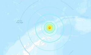 南设得兰群岛附近发生7.0级地震 震源深度7.8千米