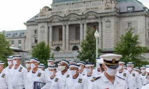 美国海军学院暴发新冠疫情,已有近200名学员被隔离