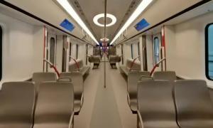 2020国内最高时速地铁亮相广州(18号线+22号线)