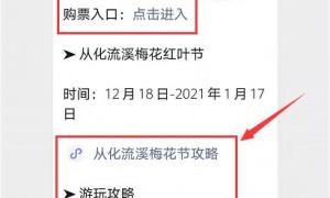 2020-2021第十九届从化流溪梅花节(时间+地点+门票+交通)