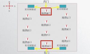 2021广州南站怎么换乘地铁(高清图解)