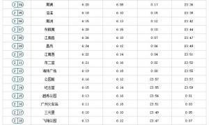 2021清明节广州地铁二号线运营时间