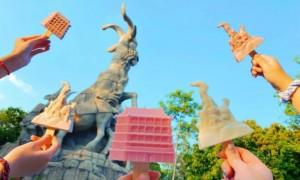 广州越秀公园文创雪糕(图片+价格+售卖点)