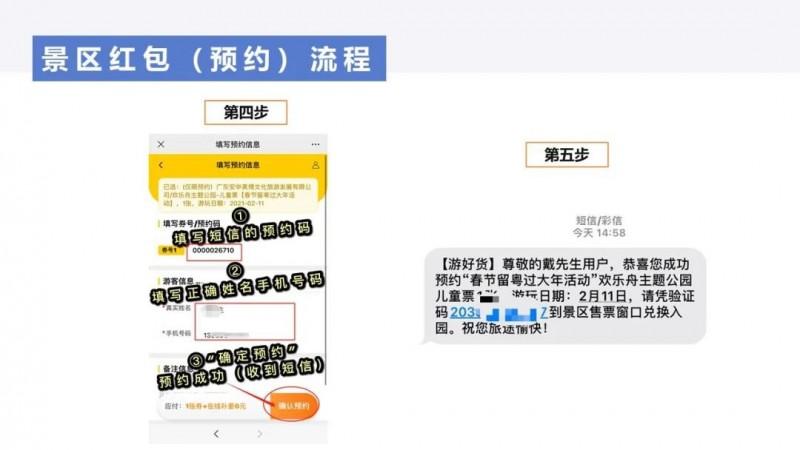 智游广东年初二至初八景区免费门票红包继续派发